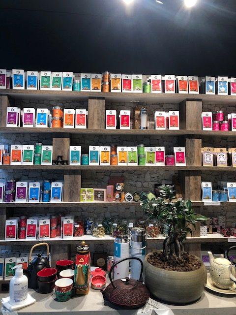 Amiza Tea Boutique Woerden ontwerp interieur